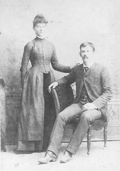 Julius and Ida Haufler Adam