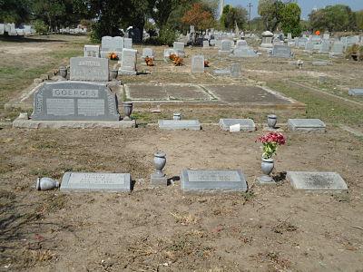 Rosa Bergmann Goerges Plot at Hermann Sons' Cemetery