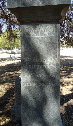 Rosa Bergmann Dietert's Tombstone