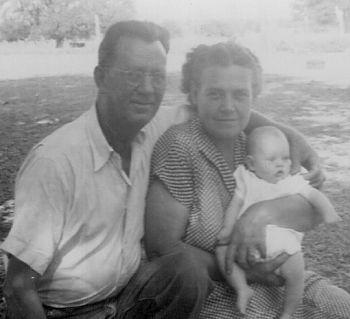 Grandpa, Grandma and me