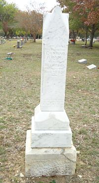 Tombstone of Conrad Adam
