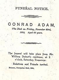 Funeral Notice for Conrad Adam_opt