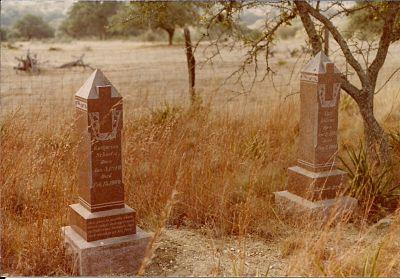 Tombstones Carl and Katharina Fries Schuetz