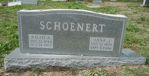 Ralph and Anna Schoenert