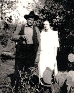 Paul and Ame Richardson 1921_opt