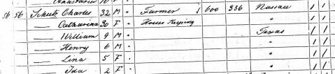 Schutz1, 1870 census